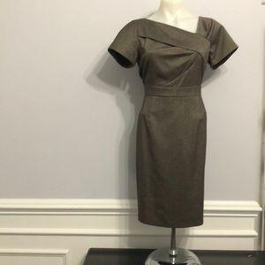 Tahari Arthur Levine Dress 👗 Sz 8 Petite